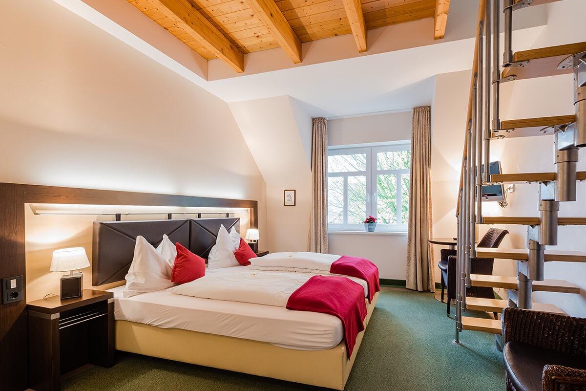 Hotel am Fischerhafen Ditzum - Familienzimmer